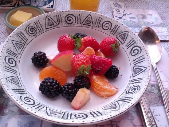 Killyon Guest House: Fresh fruits