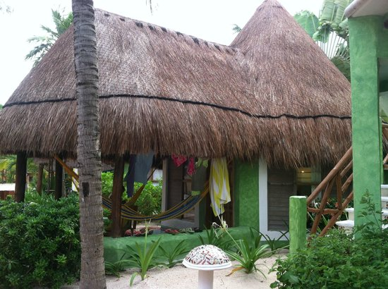 Mahekal Beach Resort: Our palapa