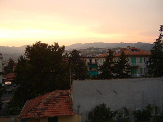 Hotel Silvano: uitzicht kamer