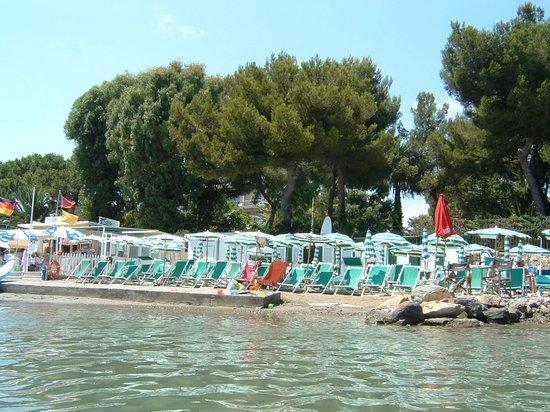 Hotel Silvano: strand