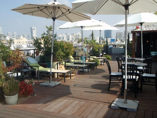 Center Chic Hotel Tel Aviv - an Atlas Boutique Hotel: Roof Terrace