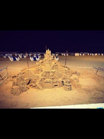Apartamentos Michel Angelo: Sand art