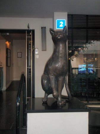Center Chic Hotel Tel Aviv - an Atlas Boutique Hotel: One of the two cats outside the hotel