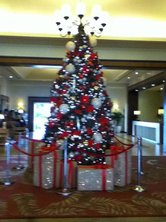 Taal Vista Hotel: Christmas deocations