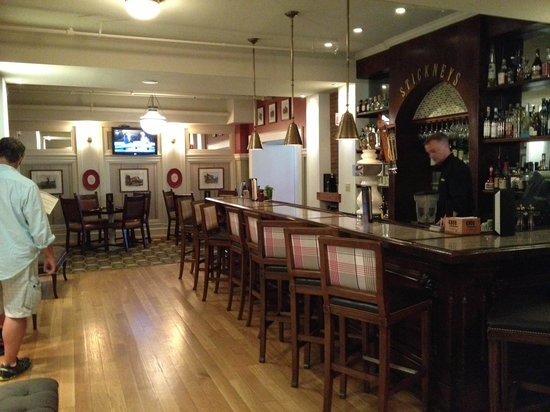 Stickney's : indoor, the bar area