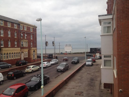 The Long Eaton Hotel : View from room 14