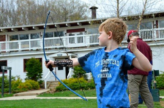 The Omni Homestead Resort: Archery