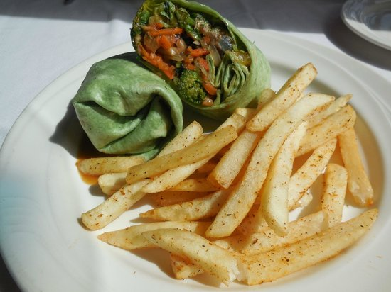 Tavern on the Waterfront: Vegetable Wrap