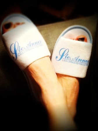 Ste. Anne's Spa: Put your feet up!