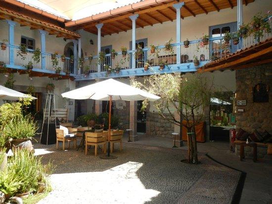 Hotel Arqueologo Exclusive Selection: patio