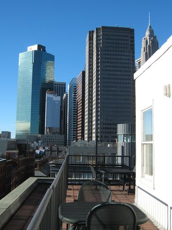 BEST WESTERN PLUS Seaport Inn Downtown: View from the terrace