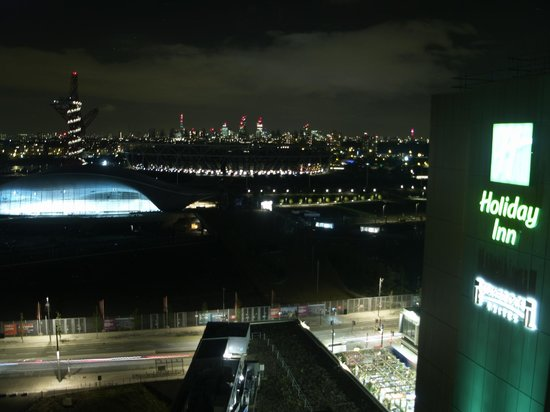 Holiday Inn London - Stratford City: Olympic Venue views