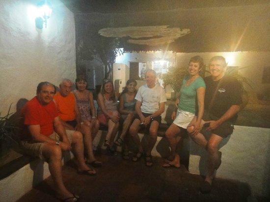 Posada La Quigua Los Roques: Porche de la posada