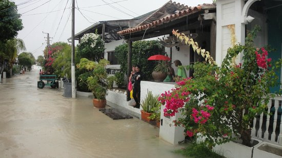 Posada La Quigua Los Roques : Dia de lluvia