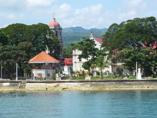 church in Dalaguete - Picture of Ocean Bay Beach Resort ...