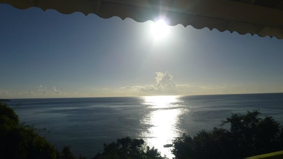Mango Bay Cottages: Ausblick vom Balkon