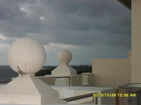 Iberostar Rose Hall Beach Hotel : quelques nuages en fin de journée
