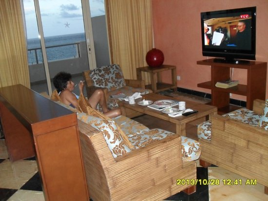 Iberostar Rose Hall Beach Hotel : coin salon