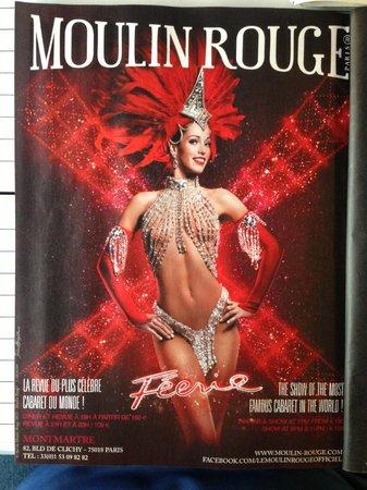 BEST WESTERN Paris Louvre Opera : Moulin Rouge Show not Far