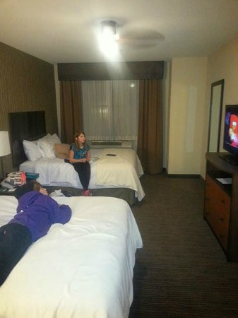 Homewood Suites by Hilton Durango: Large Bedrooms - this is dual queens
