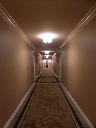 Paris Las Vegas: corridor