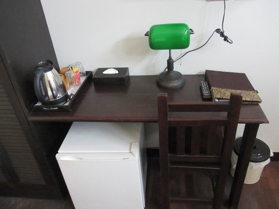 The Memory at On On Hotel: room desk