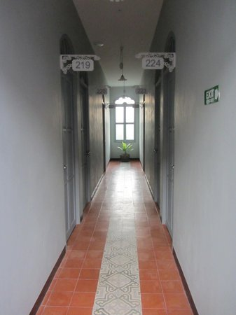 The Memory at On On Hotel: corridor