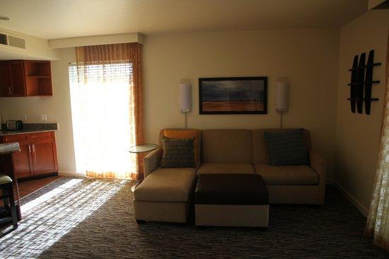 Hyatt House Pleasanton: Гостиная