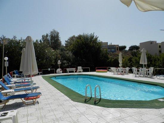 Alkion Hotel: Basen