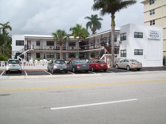 Napoli Belmar Resort : hotel front