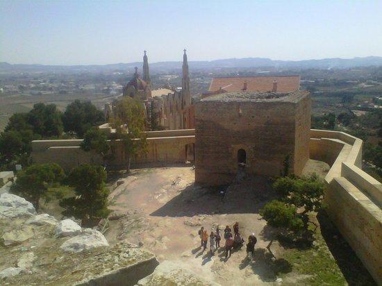 Santuario de Santa Magdalena: vista desde la torre triangular