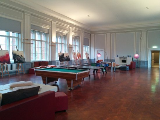 PLUS Berlin: Sala de jogos