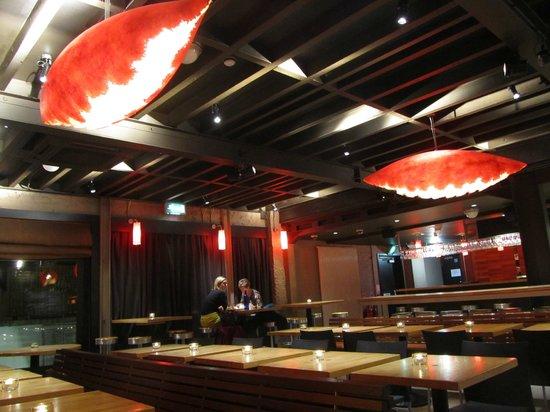 Ramore: restaurant interior