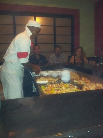 Grand Bahia Principe Punta Cana: Japanese show cooking in al a carte resturant
