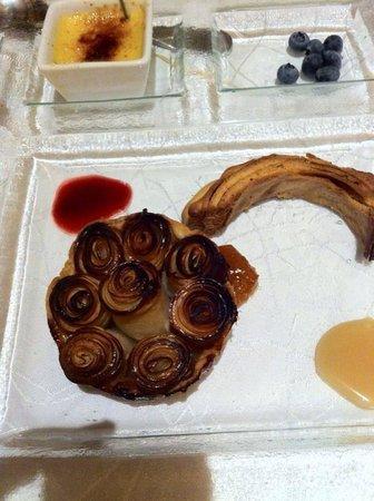 Le Jardin de la Tour: L'assiette de dessert