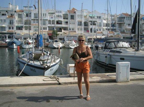 Hotel Golf Almerimar: le port de plaisance
