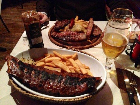 Falstaff : Piatti del menu