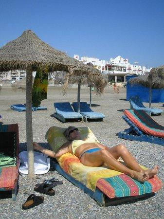 Hotel Golf Almerimar: la plage de sable fin