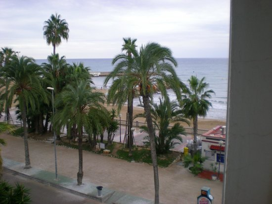 Hotel Platjador: View from our room