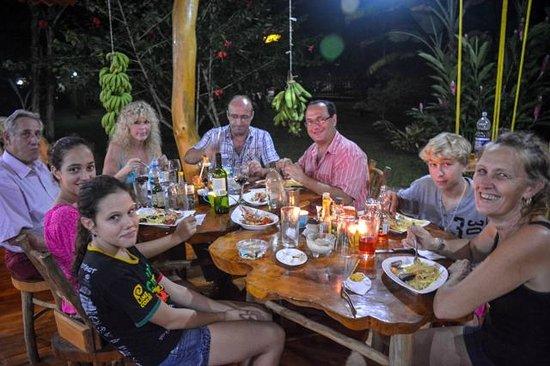 Costa Azul Lodge: Franco and Family