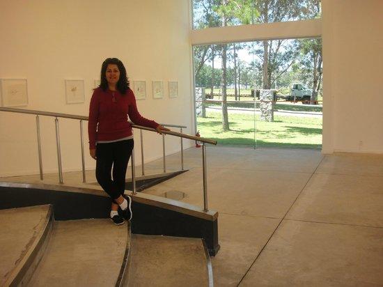 Fundacion Pablo Atchugarry: Parte interna do museo.