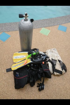 Aqua Vision Scuba Diving : Gear provided