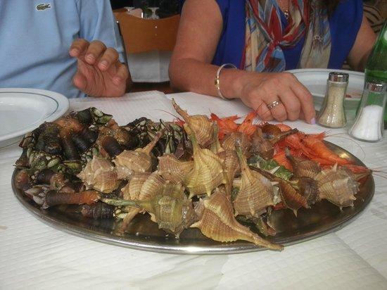 Marisqueira de Alges: Misto de mariscos