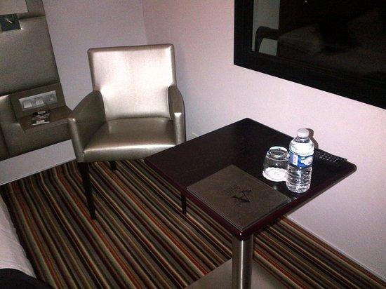 Brit Hotel Atalante Beaulieu: petit coin sympa