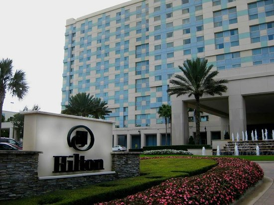 Hilton Orlando Bonnet Creek : Exterior of hotel