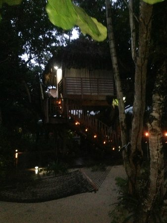 Couples Negril : tree house dinner for 2