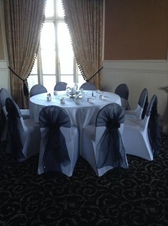 Leasowe Castle Hotel: lovely wedding reception room
