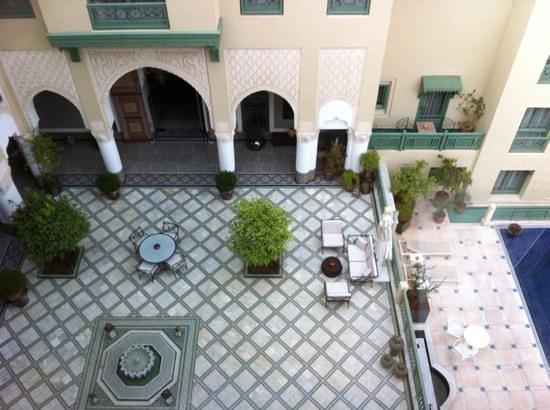 Palais Faraj Suites & Spa: le patio