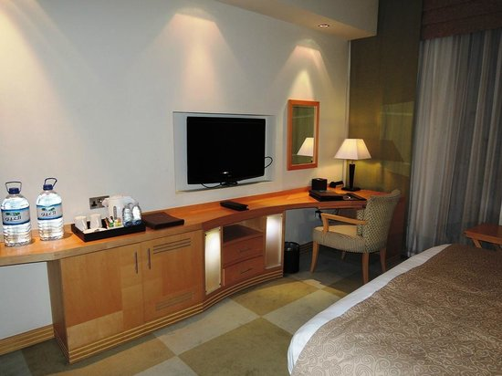 Raintree Hotel, Deira City Centre: Our room with LEDTV