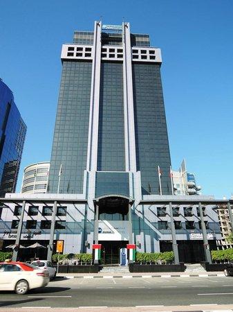 Hotel Front View Bild Von Raintree Hotel Deira City Centre Dubai